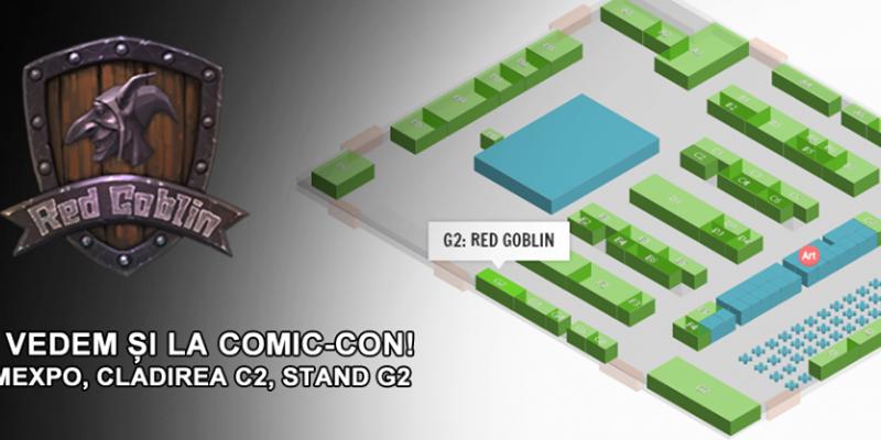 red goblin comic con 2017