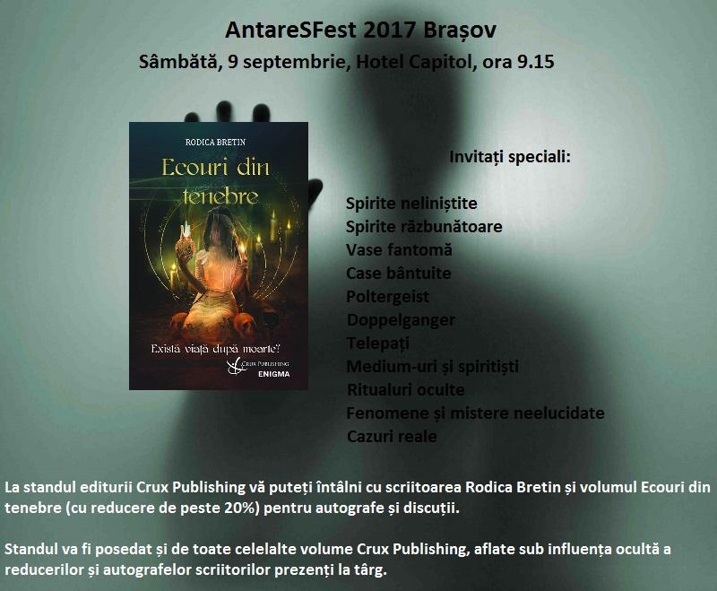 lansare rodica bretin ecouri din tenebre brasov anataresfest