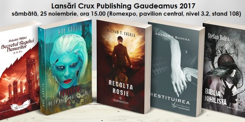 gaudeamus 2017 - eveniment crux publishing