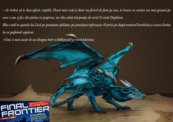 dragoni de biblioteca - final frontier 8