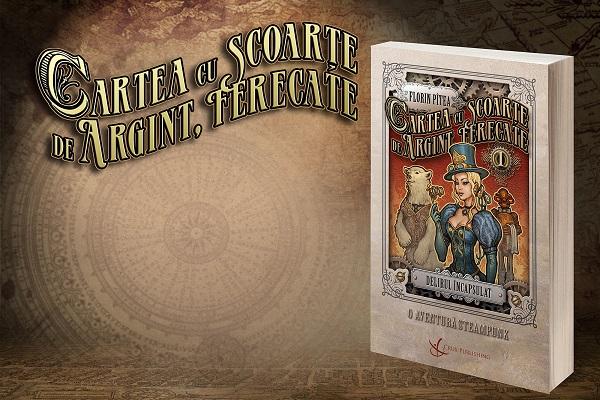 delirul incapsulat carte steampunk romaneasca